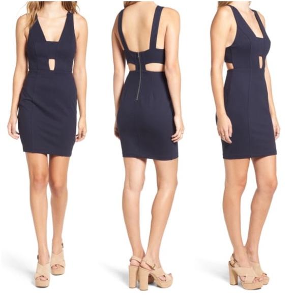 Astr Dresses & Skirts - ASTR Bandage Body-Con Minidress